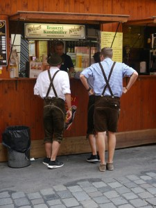 Germany lederhosen for bierfest